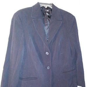 Black washable blazer